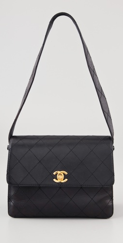WGACA Vintage Vintage Chanel Quilted Handbag