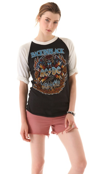 WGACA Vintage AC/DC Highway To Hell Tee