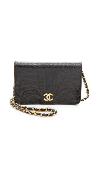 WGACA Vintage Vintage Chanel Lizard Handbag