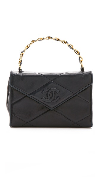 WGACA Vintage Vintage Chanel Hard Handle Bag