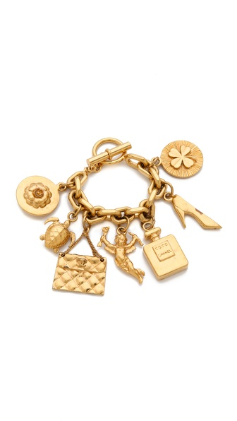 WGACA Vintage Vintage Chanel Charm Bracelet