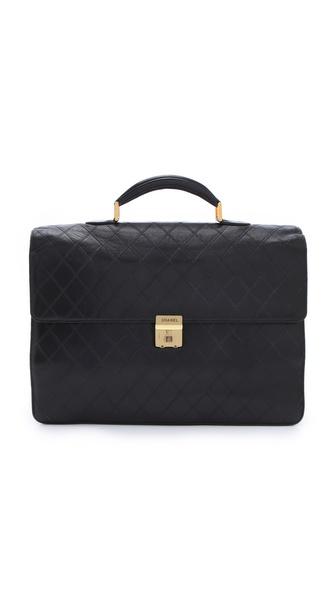 WGACA Vintage Vintage Chanel Briefcase
