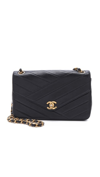 WGACA Vintage Vintage Chanel Diagonal Bag
