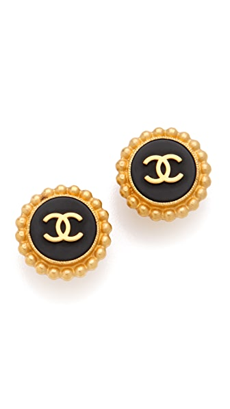 WGACA Vintage Vintage Chanel Earrings