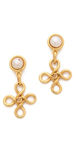 WGACA Vintage Vintage Chanel Drop Earrings