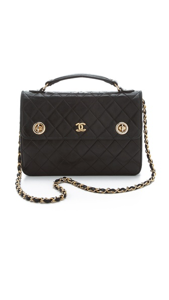 WGACA Vintage Vintage Chanel 2-Way Bag