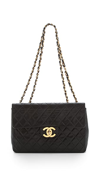 WGACA Vintage Vintage Chanel Lamb Shoulder Bag