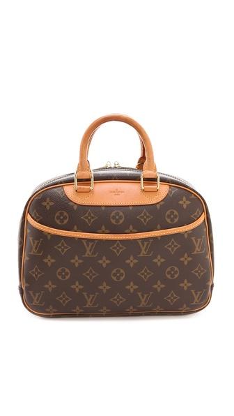 WGACA Vintage Vintage Louis Vuitton Trouville Satchel