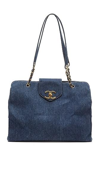 WGACA Vintage Vintage Chanel Super Model Bag