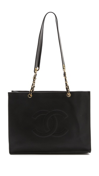 WGACA Vintage Vintage Chanel Large Shopper