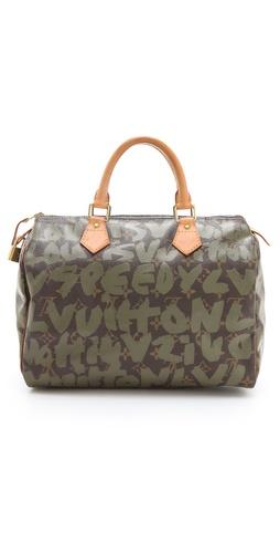 WGACA Vintage Vintage Louis Vuitton Sprouse Graffiti Speedy 30 Bag