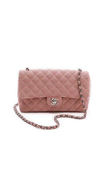 WGACA Vintage Chanel Gingham 2.55 Bag