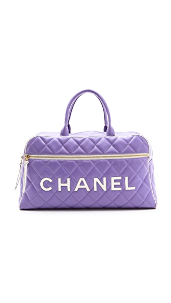WGACA Vintage Chanel Duffel Bag