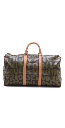 WGACA Vintage Vintage Louis Vuitton Sprouse Keepall