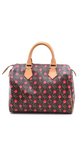 WGACA Vintage Vintage Louis Vuitton Cherry 25 Speedy