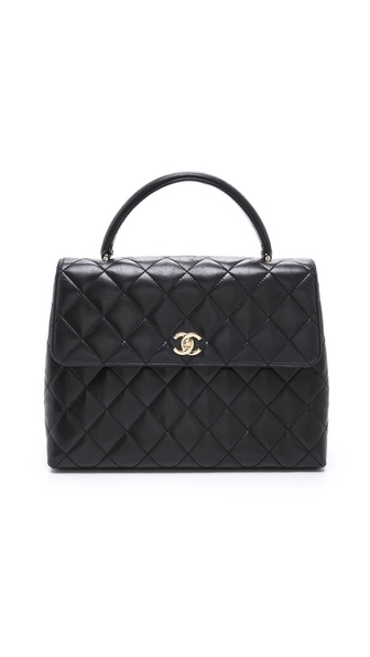 WGACA Vintage Vintage Chanel Kelly Bag