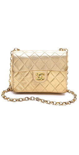 WGACA Vintage Vintage Chanel Mini Flap Bag at Shopbop / East Dane