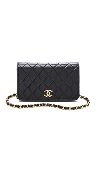 WGACA Vintage Vintage Chanel Mini Full Flap Bag