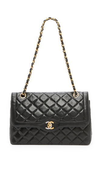 WGACA Vintage Vintage Chanel Paris Ltd Shoulder Bag