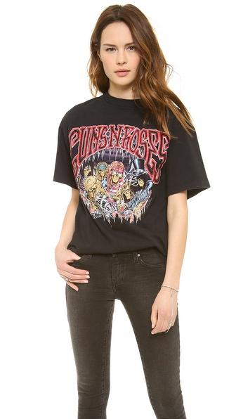 WGACA Vintage Guns N Roses Concert Tee