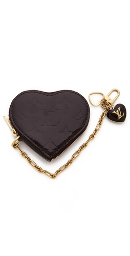WGACA Vintage Vintage Louis Vuitton Vernis Heart Coin Purse