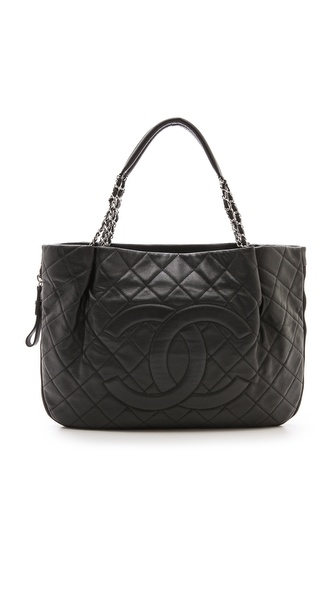 What Goes Around Comes Around Chanel Caviar Extra Large Tote