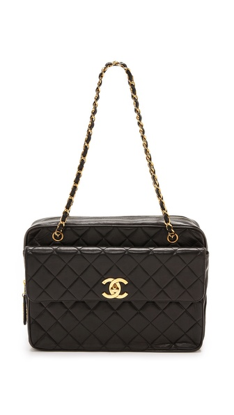 What Goes Around Comes Around Chanel Jumbo Shoulder Bag