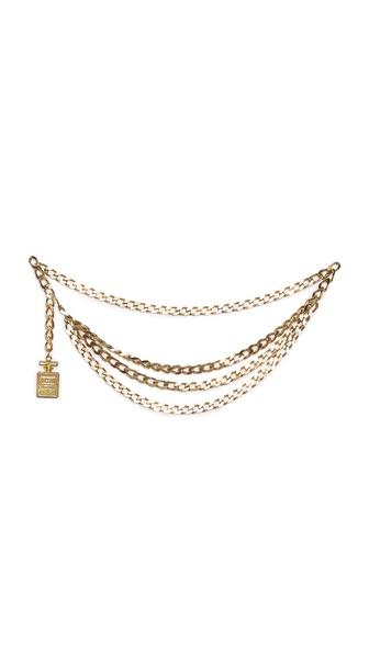 What Goes Around Comes Around Vintage Chanel No. 5 Belt