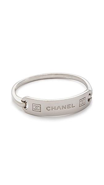 What Goes Around Comes Around Vintage Chanel ID Bracelet