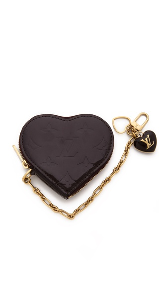 What Goes Around Comes Around Vintage Louis Vuitton Vernis Heart Coin Purse