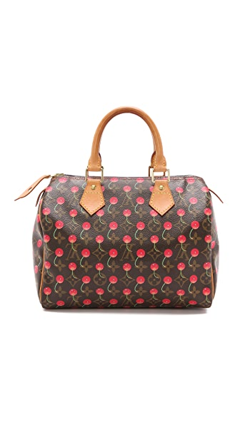 What Goes Around Comes Around Vintage LV Cherry Speedy Bag