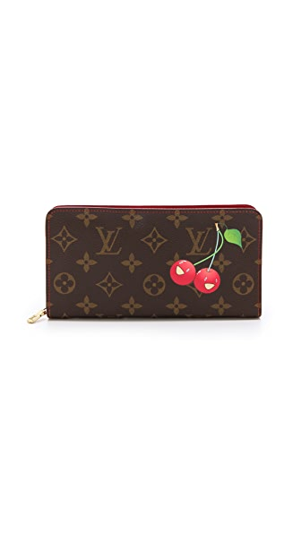 What Goes Around Comes Around Louis Vuitton Monogram Cerises Wallet