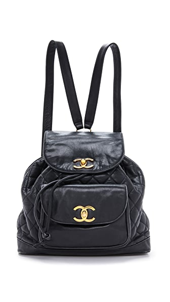 What Goes Around Comes Around Chanel CC Backpack