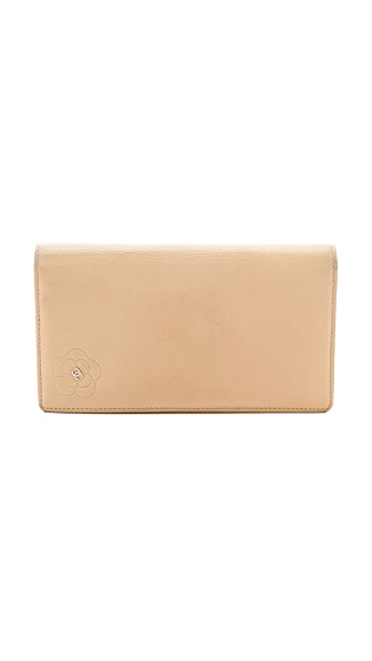 What Goes Around Comes Around Chanel Flower Wallet