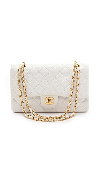 Chanel Chanel Chanel 2.55 10'' Bag (White)