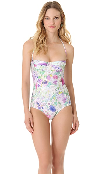 We Are Handsome Artic Panel One Piece Swimsuit