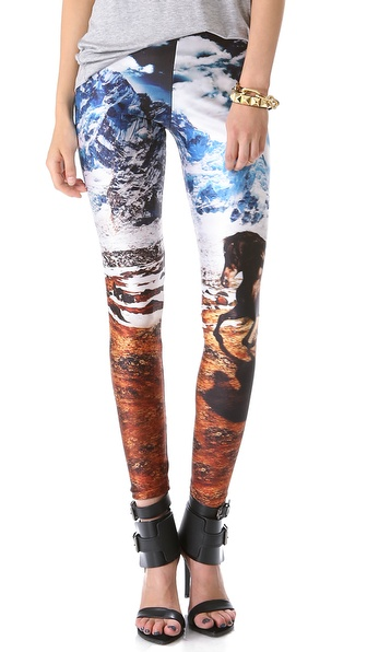 We Are Handsome The Stallion Printed Leggings