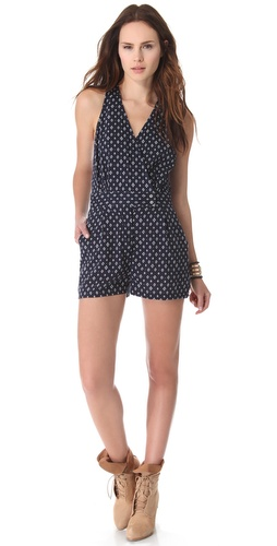 What Goes Around Comes Around Mesa Romper