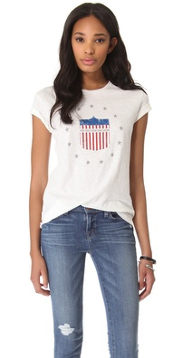 What Goes Around Comes Around Stars & Stripes Tee
