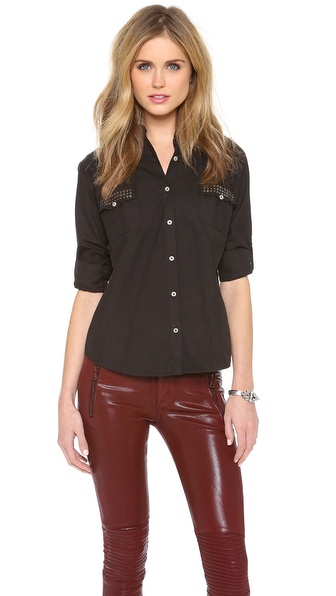 What Goes Around Comes Around Genesis Studded Shirt