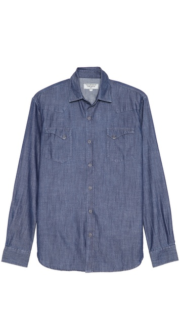 What Goes Around Comes Around Jefferson Chambray Sport Shirt