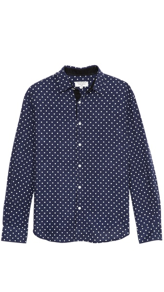 What Goes Around Comes Around Franklin Polka Dot Sport Shirt