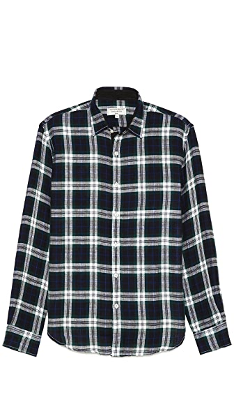 What Goes Around Comes Around Theodore Plaid Sport Shirt