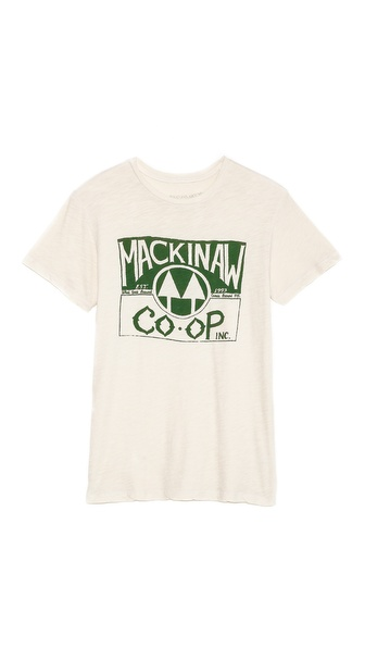 What Goes Around Comes Around Mackinaw Graphic Tee