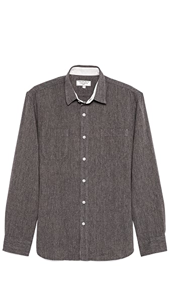 What Goes Around Comes Around Salt & Pepper Sport Shirt