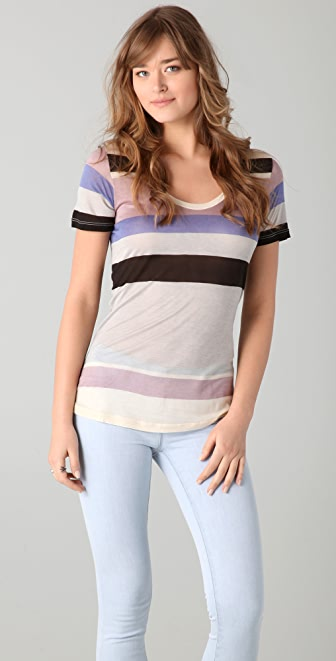 Whetherly Sloan Batiste Stripe Top