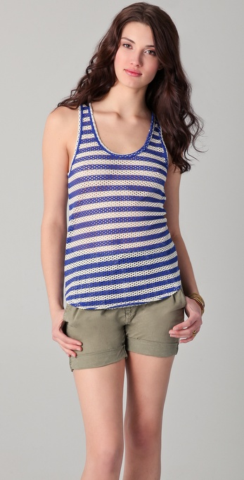 Whetherly Lou Net Stripes Tank
