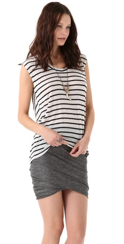 Whetherly Striped Lang Top