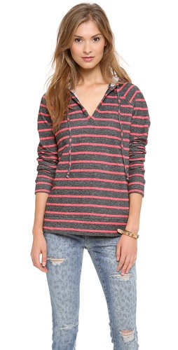 Whetherly Mandy Distressed French Terry Hoodie at Shopbop / East Dane