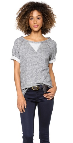 Whetherly Gia Short Sleeve Sweatshirt at Shopbop / East Dane